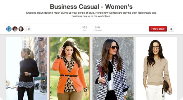 Pinterest Business Casual